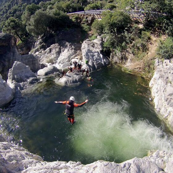 Canyoning in Guadalmina