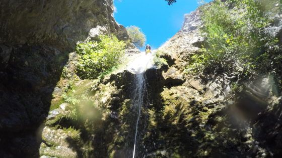Canyoning in Jorox